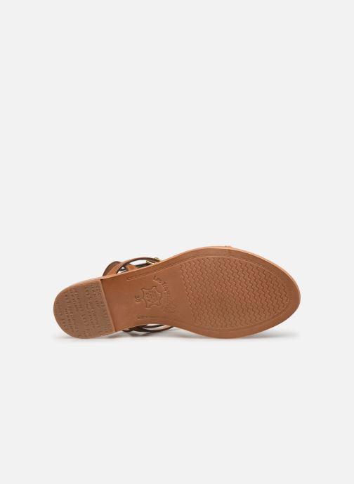 Sandales et nu-pieds Les Tropéziennes par M Belarbi Hilatres Marron vue haut