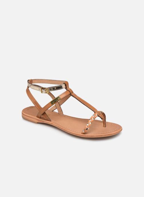 Sandales et nu-pieds Les Tropéziennes par M Belarbi Hilatres Marron vue détail/paire
