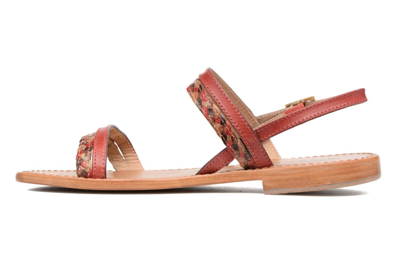 Sandales et nu-pieds Les Tropéziennes par M Belarbi Beauty Rouge vue face
