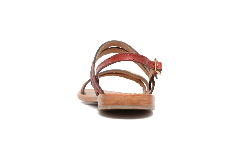 Sandales et nu-pieds Les Tropéziennes par M Belarbi Beauty Rouge vue droite