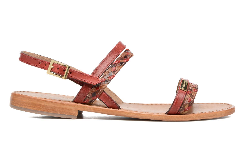 Sandales et nu-pieds Les Tropéziennes par M Belarbi Beauty Rouge vue derrière