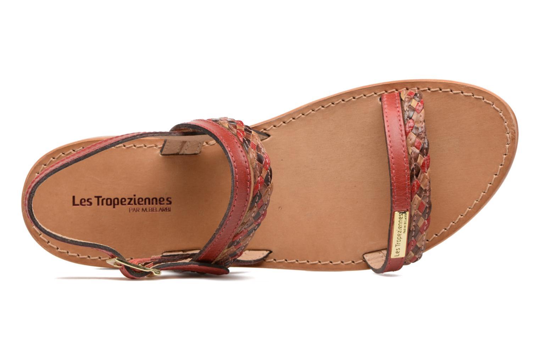 Sandales et nu-pieds Les Tropéziennes par M Belarbi Beauty Rouge vue gauche