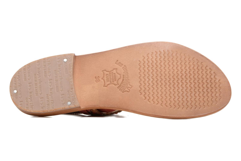 Sandales et nu-pieds Les Tropéziennes par M Belarbi Beauty Rouge vue haut