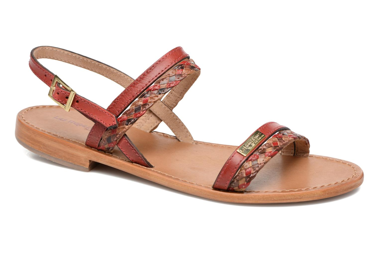 Sandales et nu-pieds Les Tropéziennes par M Belarbi Beauty Rouge vue détail/paire
