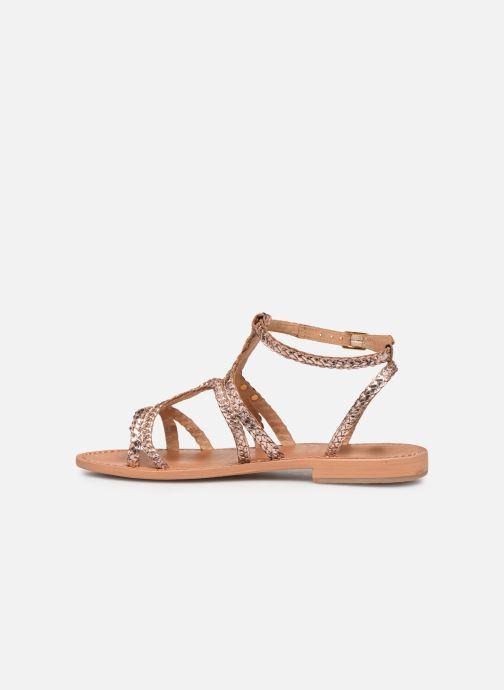Sandals Les Tropéziennes par M Belarbi Bounty Pink front view