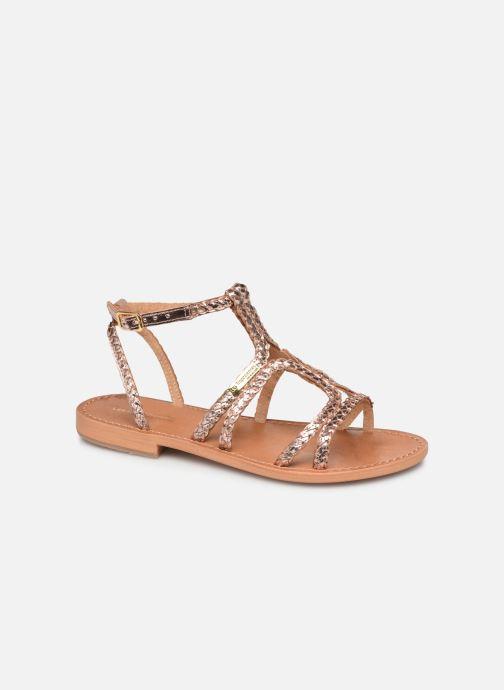 Sandals Les Tropéziennes par M Belarbi Bounty Pink detailed view/ Pair view