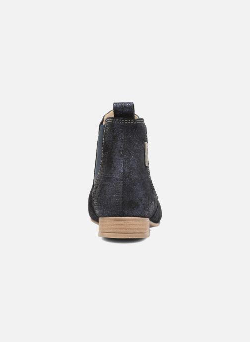 Bottines et boots Les Tropéziennes par M Belarbi Panama Bleu vue droite