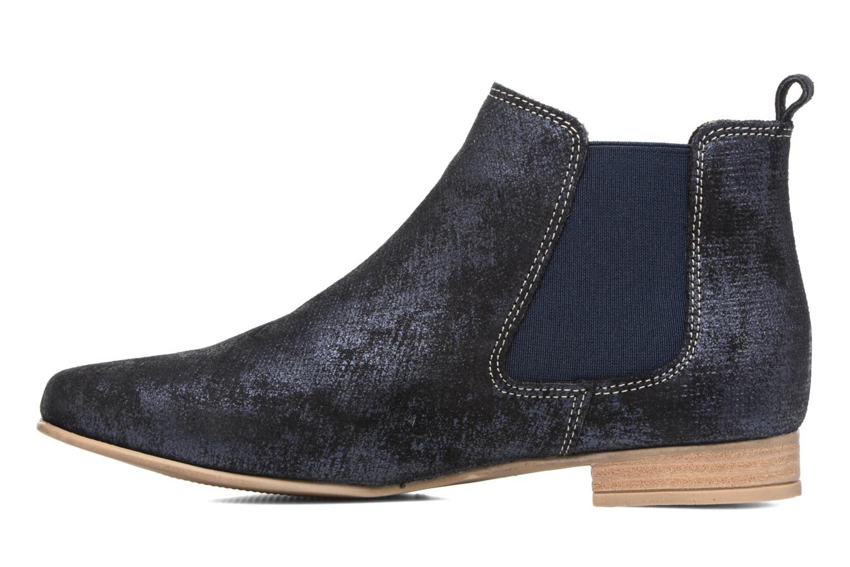 Bottines et boots Les Tropéziennes par M Belarbi Panama Bleu vue face