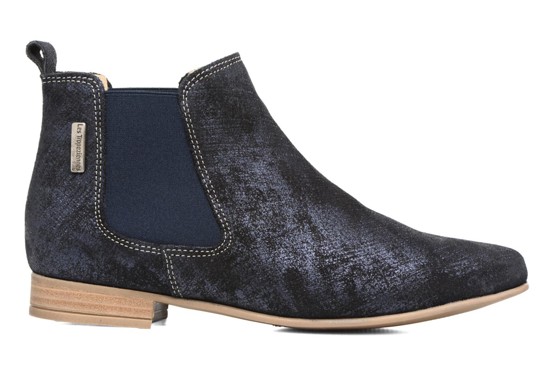 Bottines et boots Les Tropéziennes par M Belarbi Panama Bleu vue derrière