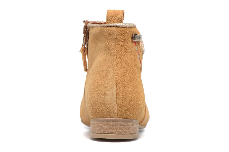 Bottines et boots Les Tropéziennes par M Belarbi Platine Marron vue droite