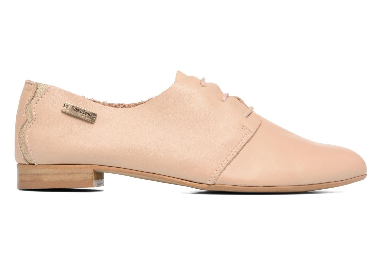 Chaussures à lacets Les Tropéziennes par M Belarbi Takarka Beige vue derrière