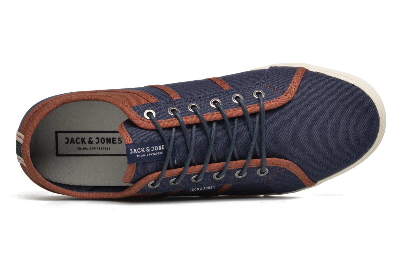 Sneaker Jack & Jones JFW Ross blau ansicht von links