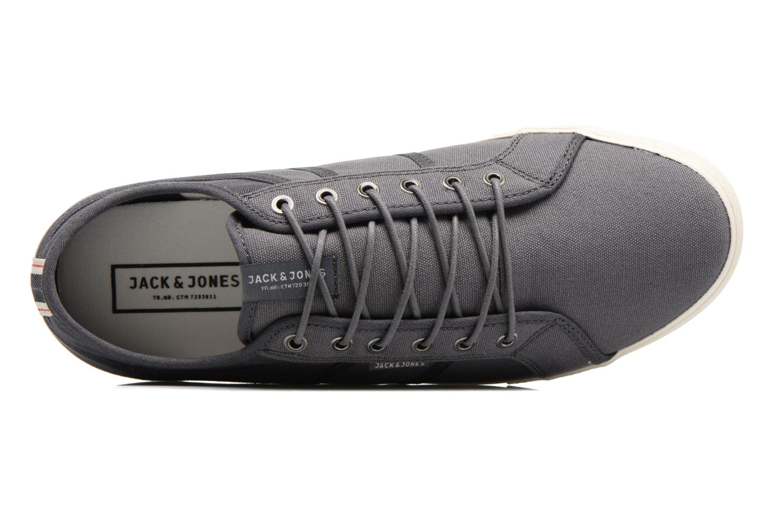 Sneaker Jack & Jones JFW Ross grau ansicht von links