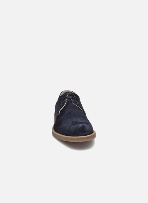 Lace-up shoes Jack & Jones JFW Billy Suede Blue model view