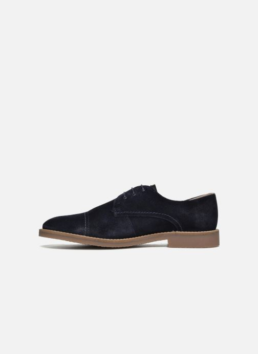 Lace-up shoes Jack & Jones JFW Billy Suede Blue front view