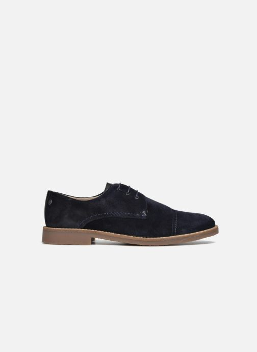 Lace-up shoes Jack & Jones JFW Billy Suede Blue back view