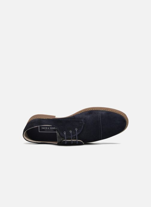 Lace-up shoes Jack & Jones JFW Billy Suede Blue view from the left