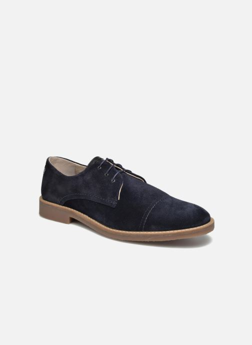 Lace-up shoes Jack & Jones JFW Billy Suede Blue detailed view/ Pair view