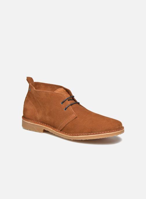 Boots en enkellaarsjes Jack & Jones JFW Gobi Bruin detail