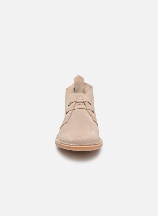 Bottines et boots Jack & Jones JFW Gobi Gris vue portées chaussures