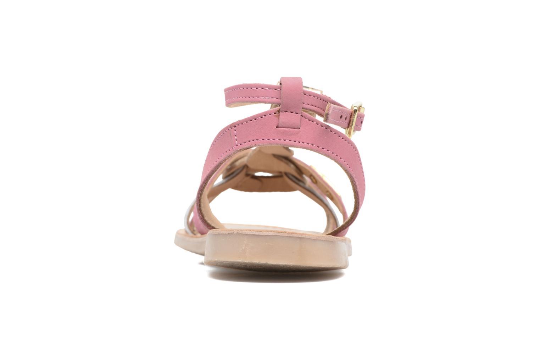Sandales et nu-pieds Les Tropéziennes par M Belarbi Badiane Rose vue droite