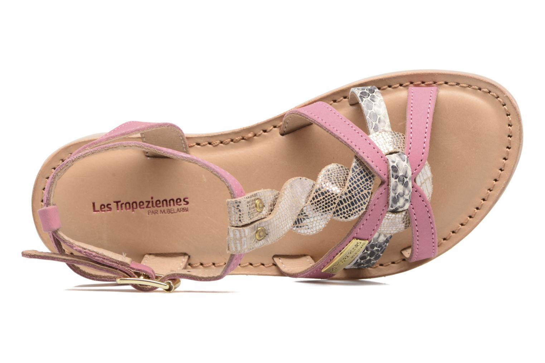Sandales et nu-pieds Les Tropéziennes par M Belarbi Badiane Rose vue gauche