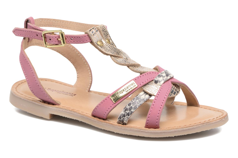 Sandales et nu-pieds Les Tropéziennes par M Belarbi Badiane Rose vue détail/paire