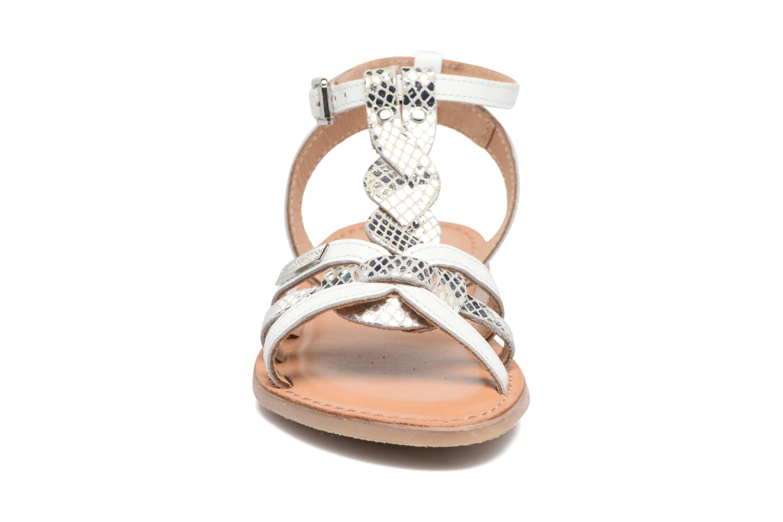 Sandali e scarpe aperte Les Tropéziennes par M Belarbi Badiane Bianco modello indossato