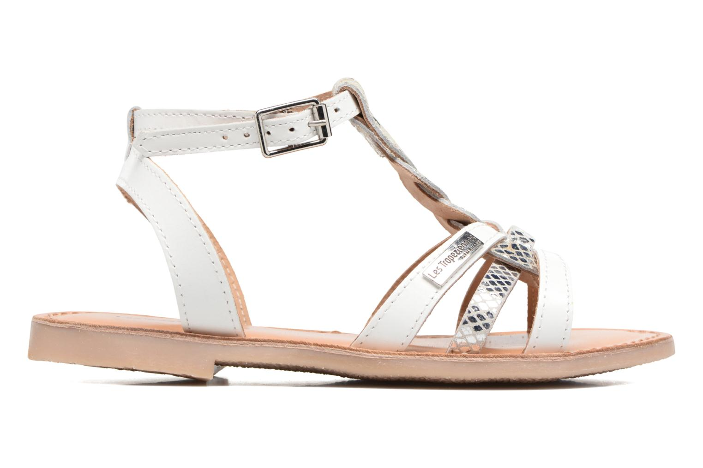 Sandali e scarpe aperte Les Tropéziennes par M Belarbi Badiane Bianco immagine posteriore