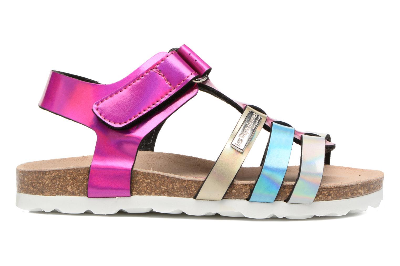 Sandales et nu-pieds Les Tropéziennes par M Belarbi Polina Multicolore vue derrière