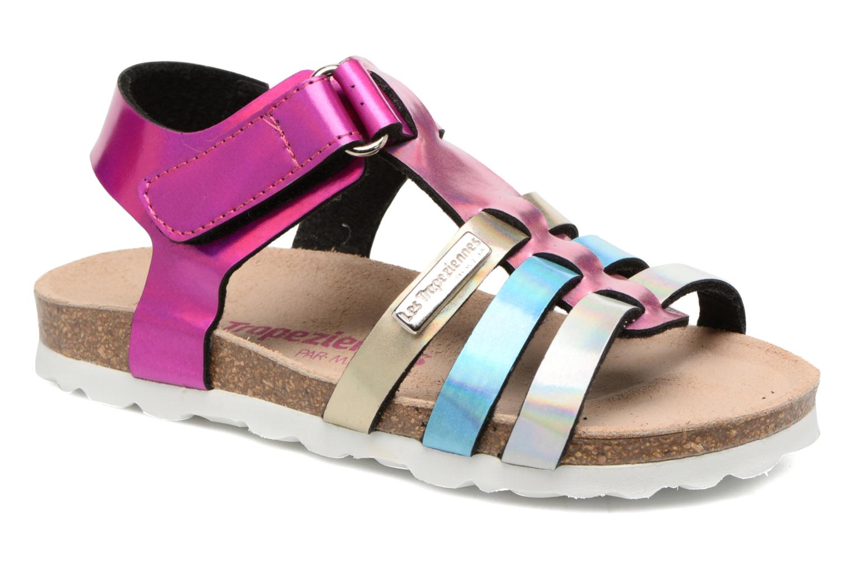 Sandales et nu-pieds Les Tropéziennes par M Belarbi Polina Multicolore vue détail/paire
