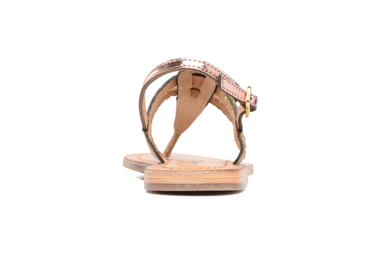 Sandaler Les Tropéziennes par M Belarbi Baraka E Guld og bronze Se fra højre
