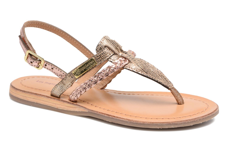 Sandaler Les Tropéziennes par M Belarbi Baraka E Guld og bronze detaljeret billede af skoene