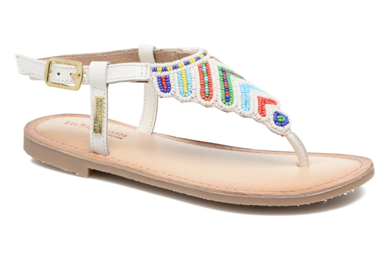 Sandals Les Tropéziennes par M Belarbi Nuage White detailed view/ Pair view