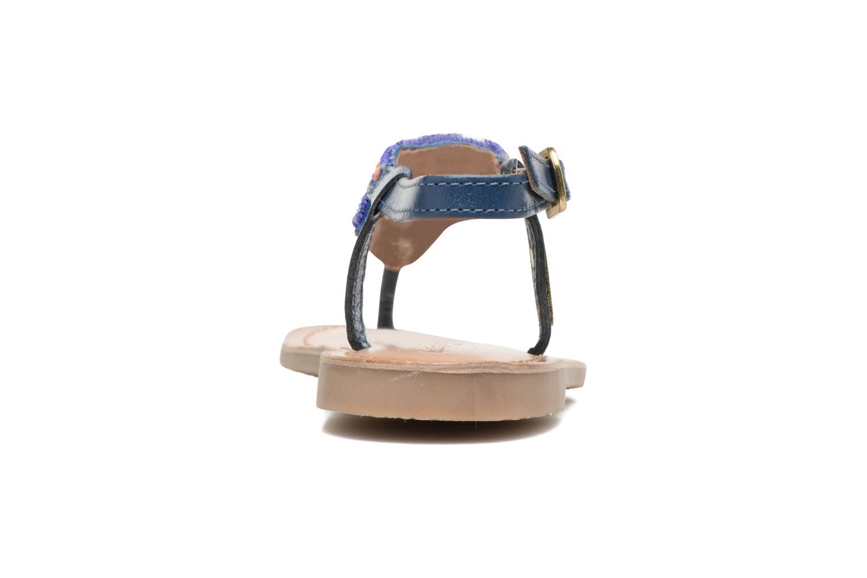 Sandals Les Tropéziennes par M Belarbi Nuage Blue view from the right