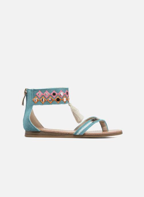 Sandales et nu-pieds Les Tropéziennes par M Belarbi Galactik Bleu vue derrière