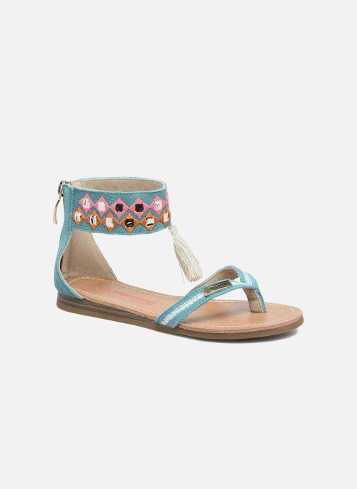 Sandales et nu-pieds Les Tropéziennes par M Belarbi Galactik Bleu vue détail/paire