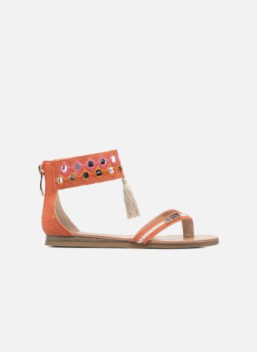 Sandales et nu-pieds Les Tropéziennes par M Belarbi Galactik Orange vue derrière