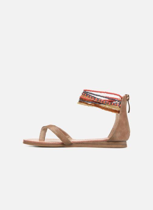 Sandali e scarpe aperte Les Tropéziennes par M Belarbi Ginkgo E Beige immagine frontale