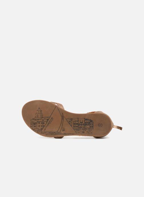 Sandali e scarpe aperte Les Tropéziennes par M Belarbi Ginkgo E Beige immagine dall'alto