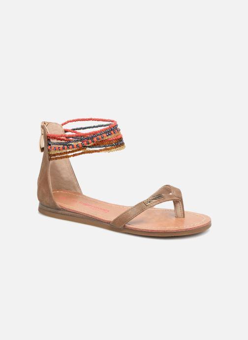 Sandali e scarpe aperte Les Tropéziennes par M Belarbi Ginkgo E Beige vedi dettaglio/paio