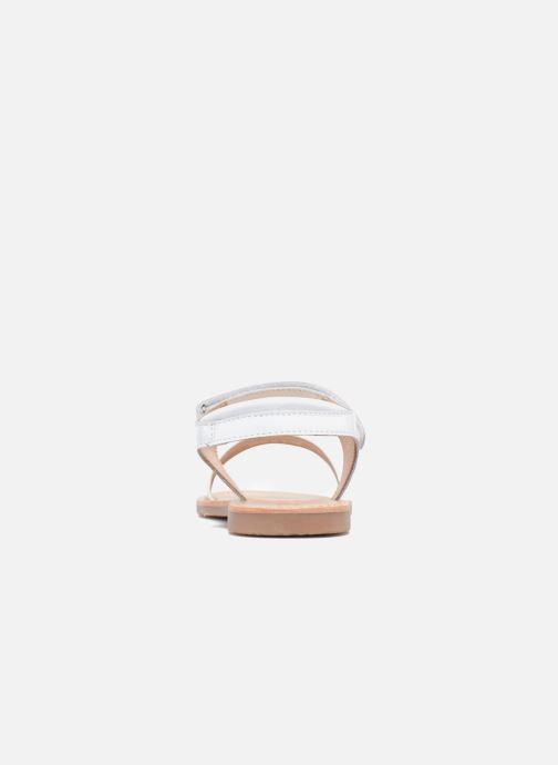 Sandales et nu-pieds Mellow Yellow Mnbadam Blanc vue droite