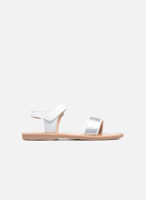 Sandales et nu-pieds Mellow Yellow Mnbadam Blanc vue derrière