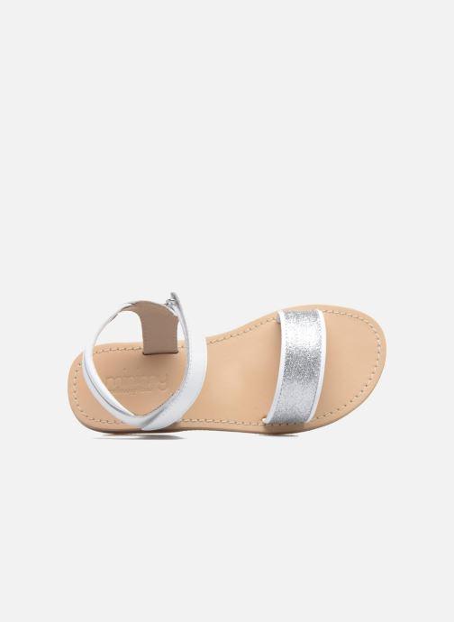Sandales et nu-pieds Mellow Yellow Mnbadam Blanc vue gauche