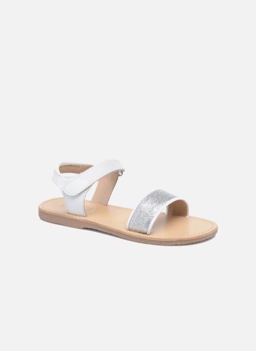 Sandales et nu-pieds Mellow Yellow Mnbadam Blanc vue détail/paire