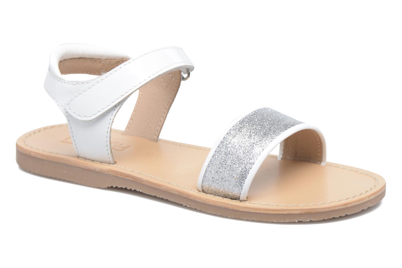 Sandaler Mellow Yellow Mnbadam Hvid detaljeret billede af skoene