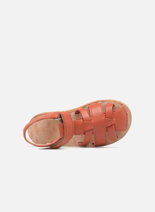 Sandales et nu-pieds Easy Peasy Dudu Rouge vue gauche