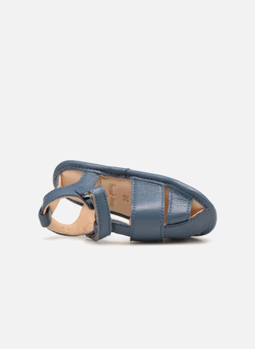 Sandalen Easy Peasy Nonno blau ansicht von links