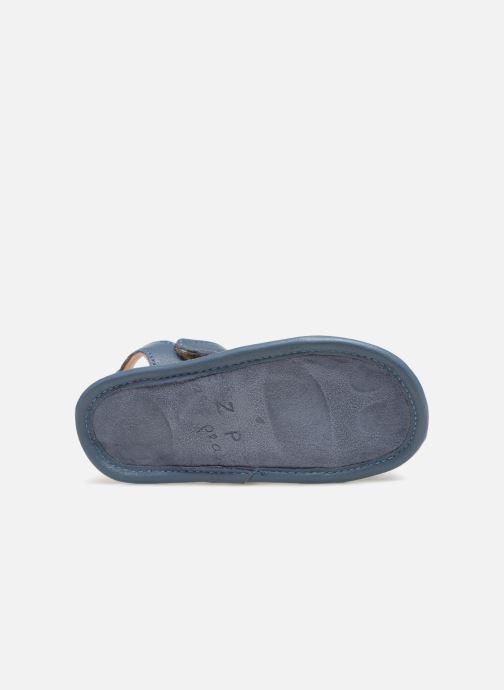 Sandalen Easy Peasy Nonno blau ansicht von oben