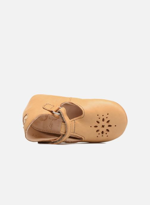 Chaussons Easy Peasy Lillyp Marron vue haut